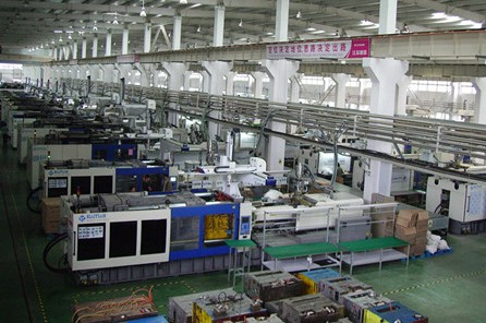 factory Injection molding machines